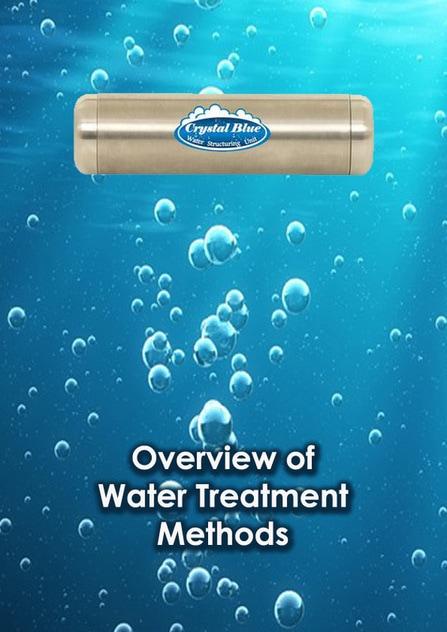 Water Treatment Methods